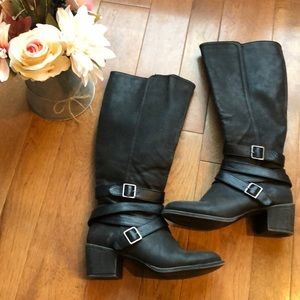 Sonoma 8 tall black boots